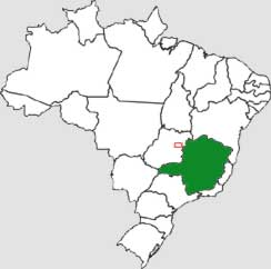 Mapa do Minas Gerais