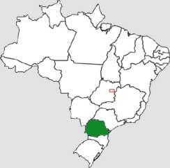 paraná brasil mapa Mapa de DDD do Paraná   Mapas de DDDs do Paraná   QUAL DDD?   Qual  paraná brasil mapa